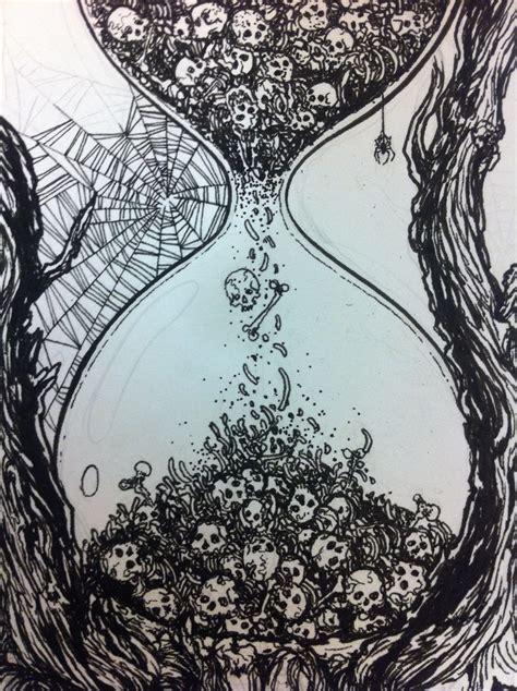 trending hourglass drawing ideas  pinterest