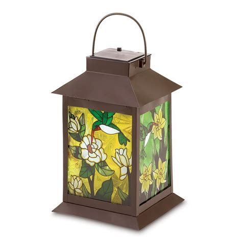 solar powered decorative lanterns solar powered floral lantern wholesale at koehler home decor