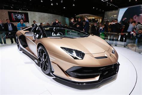 lamborghini aventador svj roadster aventador svj roadster geneva international motor show