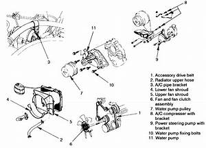 repair guides engine mechanical water pump With isuzu water pump