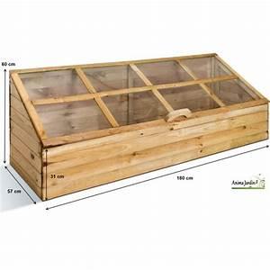 Jardinière En Bois Pas Cher : serre de jardin en bois ch ssis pour semer quadruple ~ Dailycaller-alerts.com Idées de Décoration