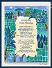 Hanukkah Gift CUSTOM HOME BLESSING Jewish Judaica Art