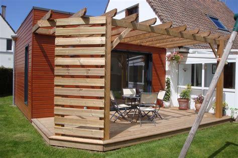 pergola en bois pergola en bois terrasse en bois