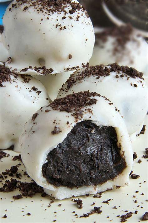oreo truffles white chocolate oreo truffles cakescottage