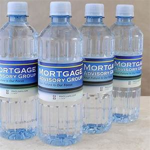 corporate and any occasion personalized water bottles With corporate water bottle labels