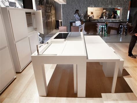 office de cuisine kitchen by daniele bedini turns into office