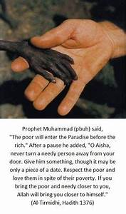 Prophet Muhamma... Islam And Poverty Quotes