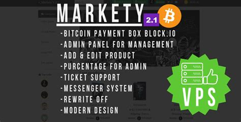 Bitcoin cash (bch) is a hard fork cryptocurrency released on 1st august, 2017. Markety v2.1 - Multi-Vendor Marketplace In Bitcoin PHP codelist | Kamu DL