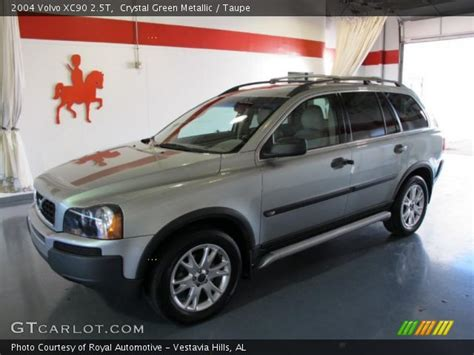 crystal green metallic  volvo xc  taupe