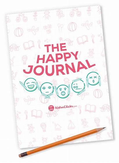 Journal Happy Printable Children Happiness Meditation Positive