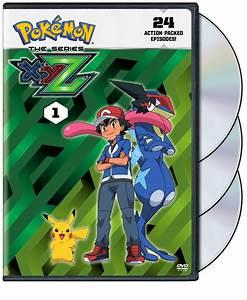Pokemon XYZ Set 1 DVD
