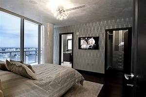 Miami Luxury Condo - Contemporary - Bedroom - miami - by