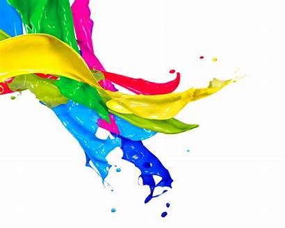 Splash Paint Drops Colors Spray Clipartbest Pink