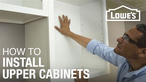 how to hang kitchen cabinets how to hang cabinets youtube