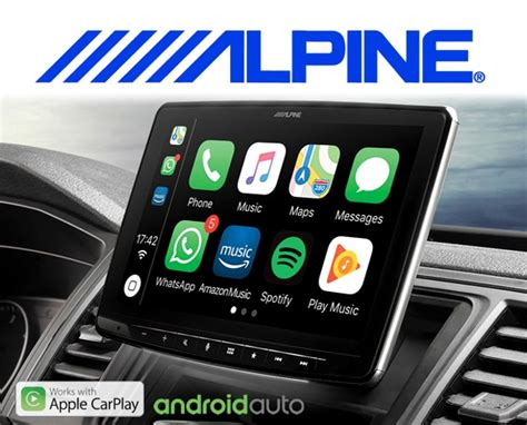 autoradio mit android auto alpine autoradio ilx f903d carplay android usb