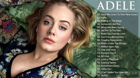 Best Of Adele by Adele Greatest Hits Album Best Songs Of Adele 2018