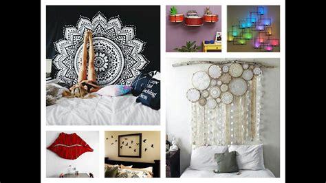 Bedroom Wall Decor Ideas Diy by Creative Wall Decor Ideas Diy Room Decorations