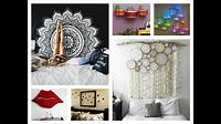 homemade room decorations Creative Wall Decor Ideas - DIY Room Decorations - YouTube
