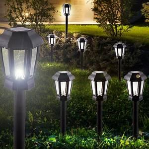 Gartenbeleuchtung Led Leuchten Garten : 4er set led solar lampen garten weg beleuchtung terrasse ~ Michelbontemps.com Haus und Dekorationen