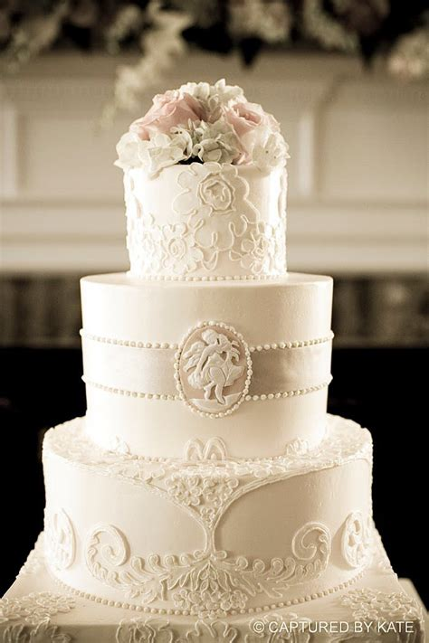 105 Best Images About Beigeivorycream Wedding Cakes On
