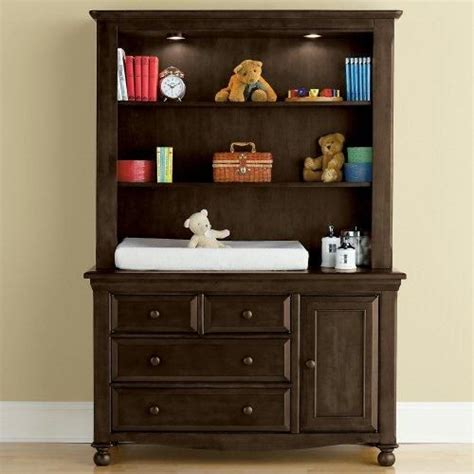 baby changing dresser with hutch bedford baby monterey changing table with hutch jcp