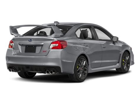 Subaru Wrx Sti Msrp by New 2018 Subaru Wrx Sti Limited Manual W Lip Spoiler Msrp