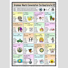 Grammar Meets Conversation Dodoesareis (2)  Asking For Personal Information  Easy English