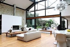 loft avec verriere et une grande hauteur sous plafond With maison hauteur sous plafond