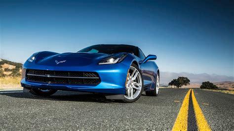 Classic Car Wallpaper 1600 X 900 Cool Pics by 2014 Chevrolet Corvette Stingray Blue Wallpaper Hd Car