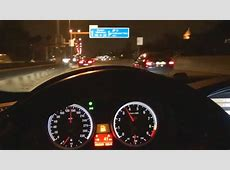 BMW M3 E92 Drive on Autobahn Acceleration Onboard POV
