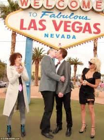 Pamela anderson takes on ceremonial role at peta leader for Gay wedding las vegas