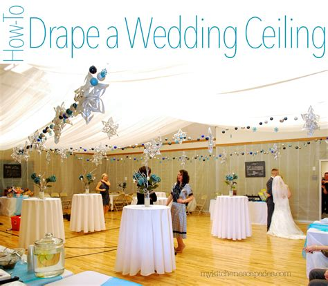 How To Hang Ceiling Drapes For Events - wedding ceiling draping tutorial how to measure and hang