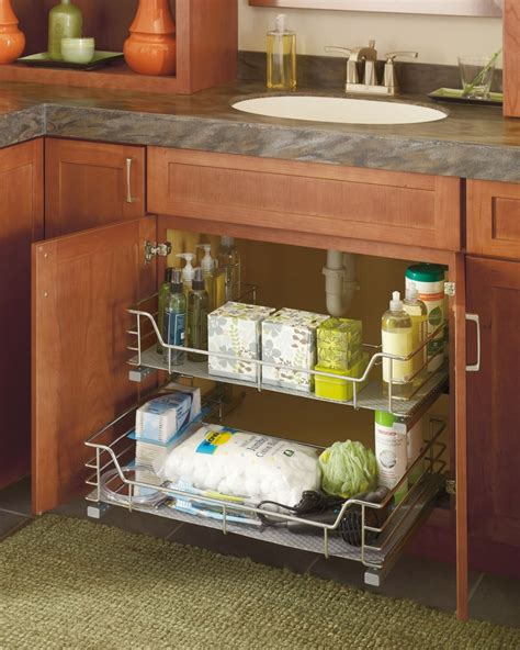 storage kitchen sink thanks to you can tidy your bathroom counters by 5892