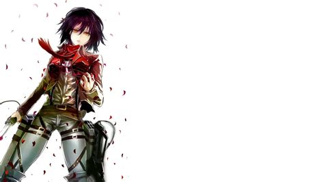 attack  titan mikasa ackerman wallpapers  images