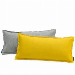 Esstisch 60 X 60 : kissen rechteckig 60 x 30 cm einfarbig filz viele farben hey sign uno ~ Bigdaddyawards.com Haus und Dekorationen