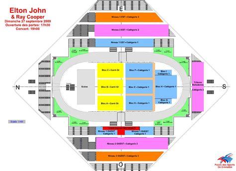 plan de salle palais des sports plan salle palais des sports grenoble