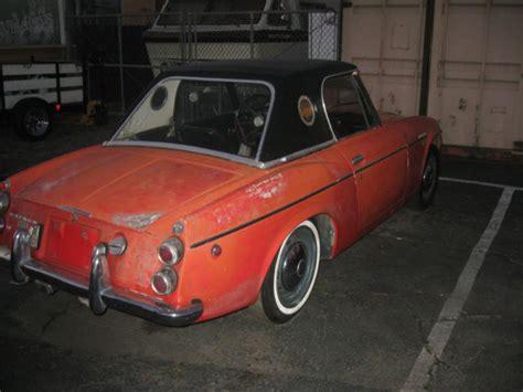 Datsun 1600 Parts by Datsun 1600 Roadster Parts No Reserve 1967 5 Datsun
