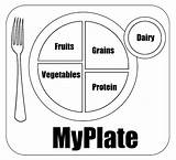 Pyramid Coloring Myplate Plate Healthy Worksheets Worksheet Printable Blank Template Para Unhealthy Nutrition Dinner Recipes Cookies Dessert Hubpages Gonnafly Colorear sketch template