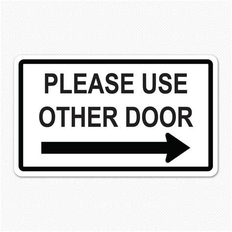 use other door use other door decal decals for doors