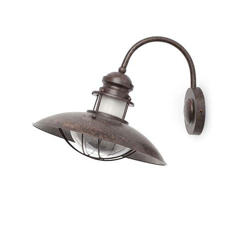 luminaire led cuisine une applique vintage aspect rouille idéale dans une
