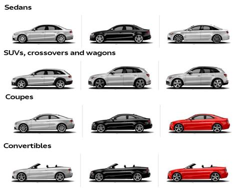 types of suvs different body types of cars http www autoinfoz com