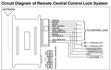 Car Keyles Entry Wiring Diagram by One Way Universal Remote Car Keyless Entry System