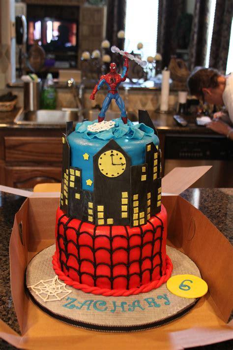 spiderman cake   sweet  year  boy boy birthday