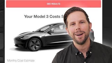 27+ Tesla 3 Cost Estimator Background