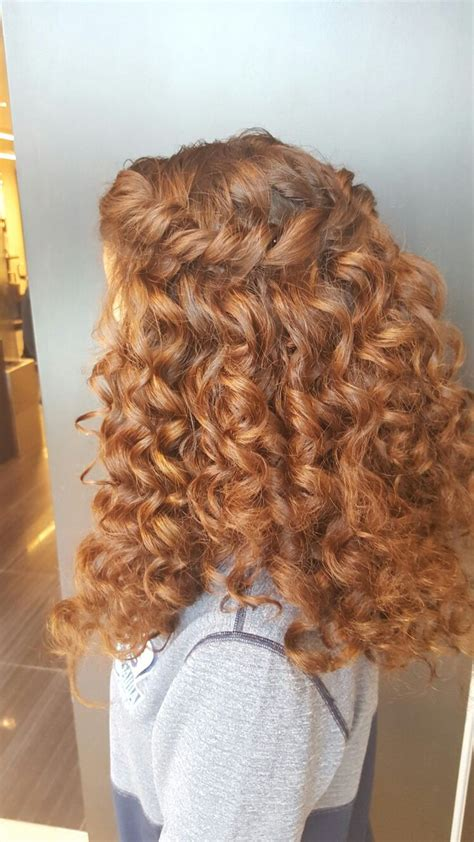 hair style pic 25 best ideas about waterfall braid prom on 8949