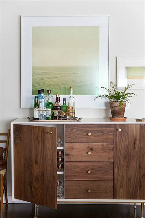 Bar Buffet Sideboard by 15 Modern Ways To Style Your Credenza