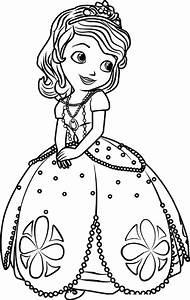 Princess Sofia Coloring Pages Online Prinzewilsoncom