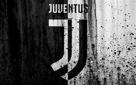 Download imagens A Juventus, 4k, novo logotipo, Serie A, A ...