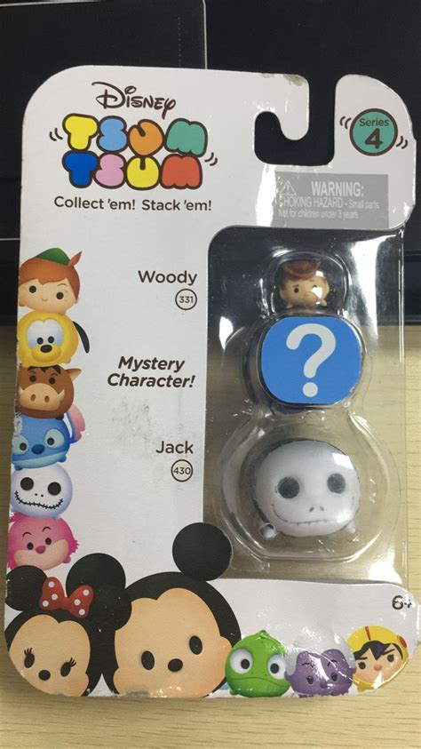 Tsum Tsum Figure Collection lovely tsum tsum 3 pack series 4 collection figure in box