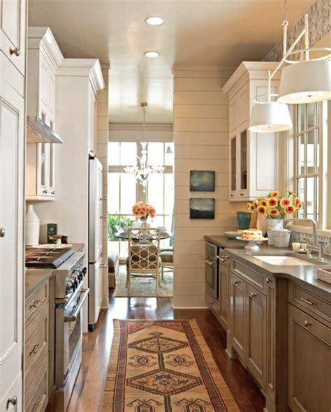 cuisine couloir aménager une cuisine 40 idées pour le design